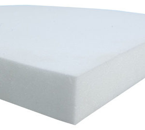 "high-density foam bedding - 4"" thick"