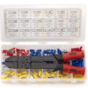 Wire crimper set