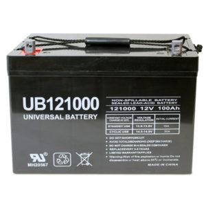 universal 100ah agm batter