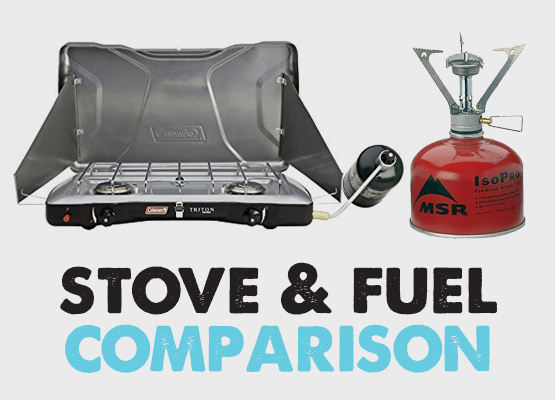 butane vs propane camping stoves