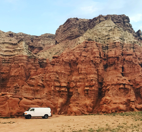 camping in goblin valley BLM land