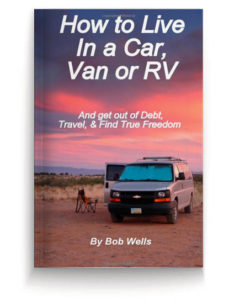 how to live in a car and van book on vanlife