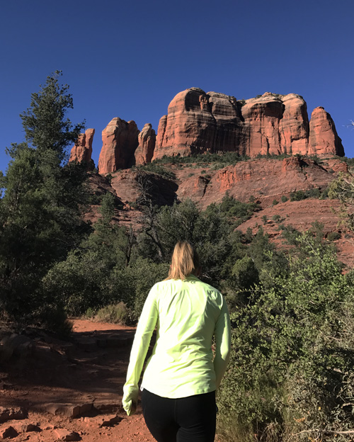 Castle rock hike in sedona