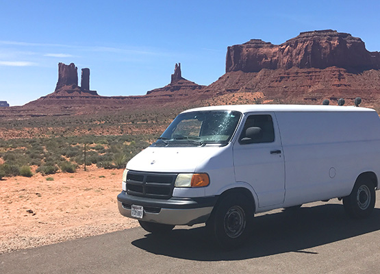 itinerary for utah national parks in a campervan