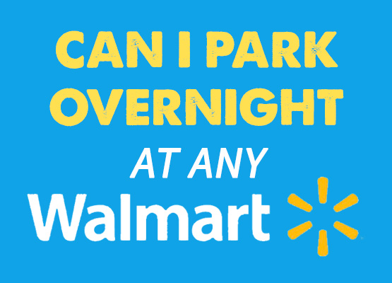 overnight walmart parking