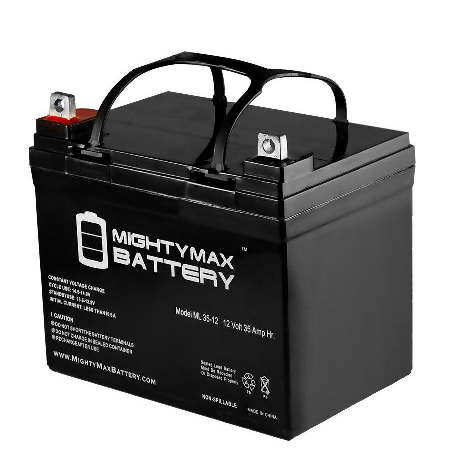 might max 12V 35ah battery review
