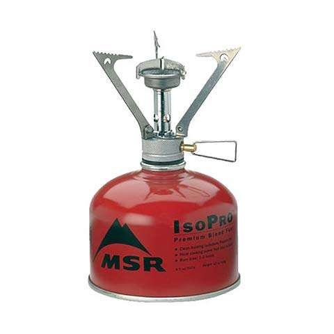 Camper van backpacking stove isopropane fuel