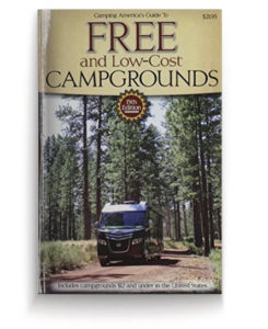 free and cheap campgrounds of US guide
