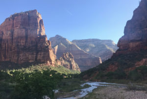 zion valley view