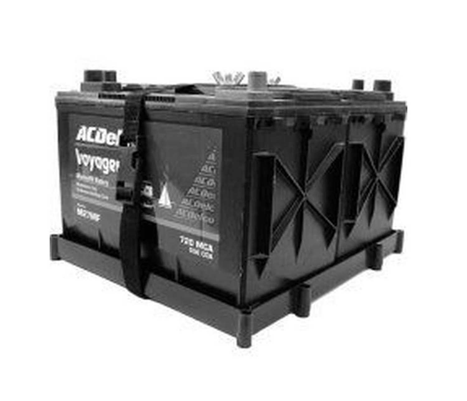 double 12v Battery tray