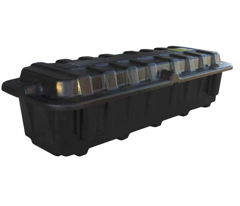 lengthwise two battery box