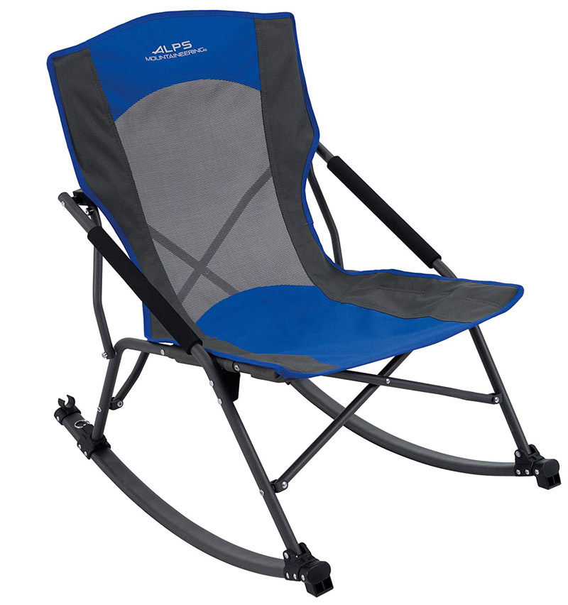 Alps compact folding rocking chair