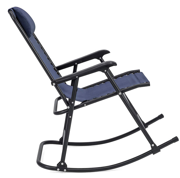 patio rocking chair that folds up
