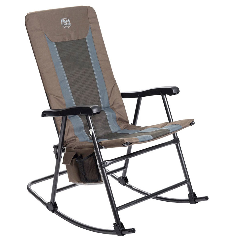 rocking chair with a tall back
