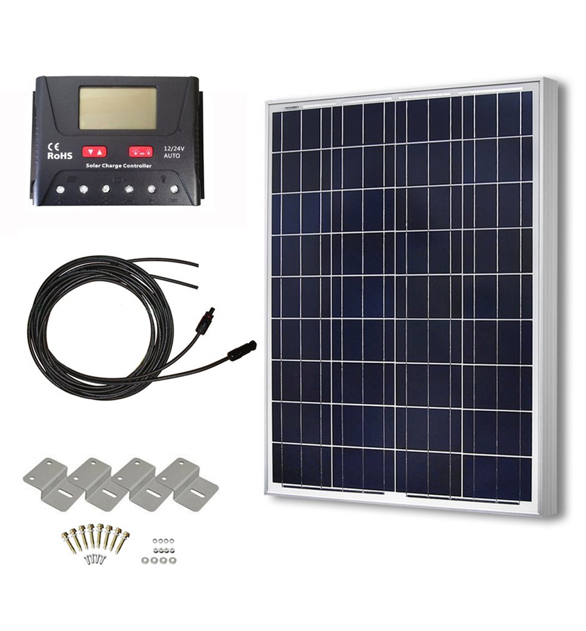 HSQT solar panel and controller