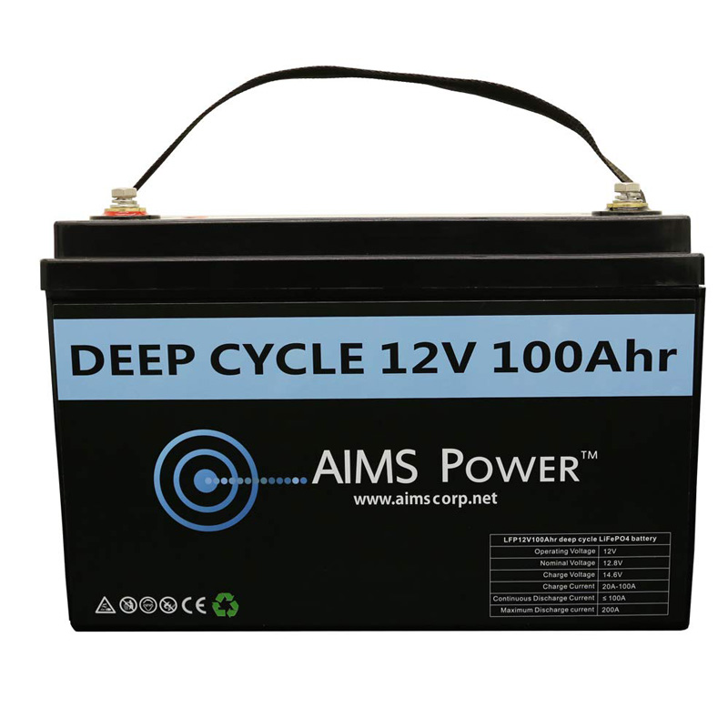 AimsPower 12V LiFePo4 battery specifications