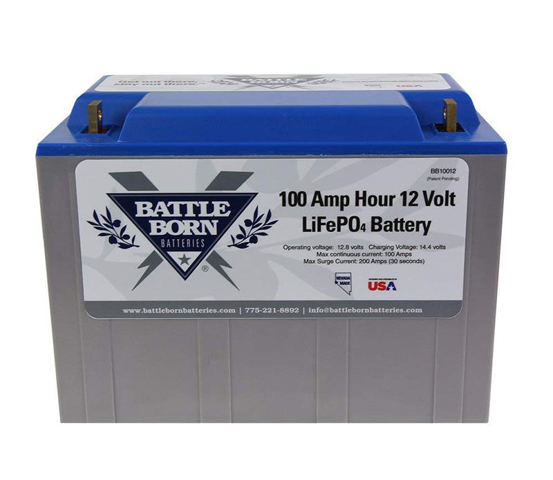battle born lithium ion 100 amp hour battery