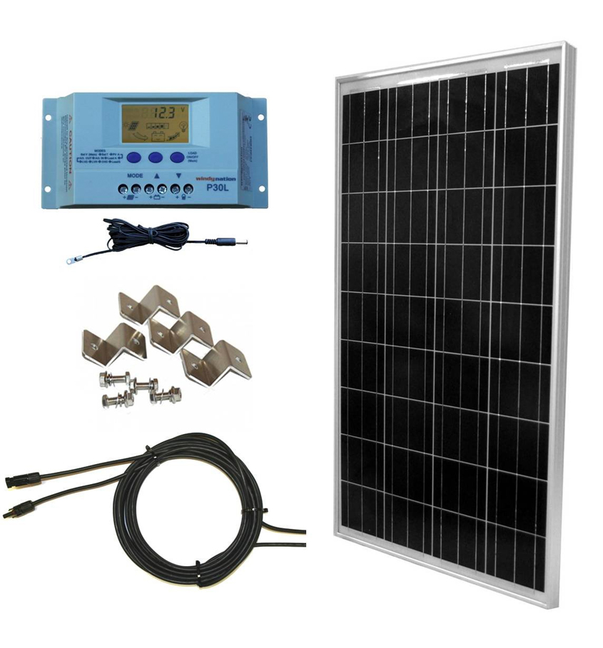Windy nation solar panel kit