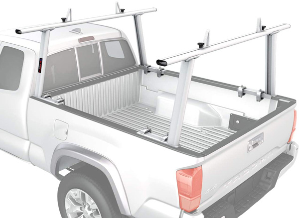 lightweight rack system for pickups
