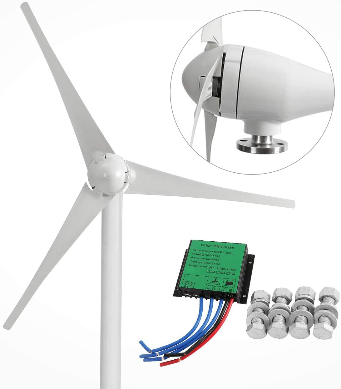 wind turbine for boats or homes