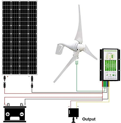 wind and solar combo kit for off grid