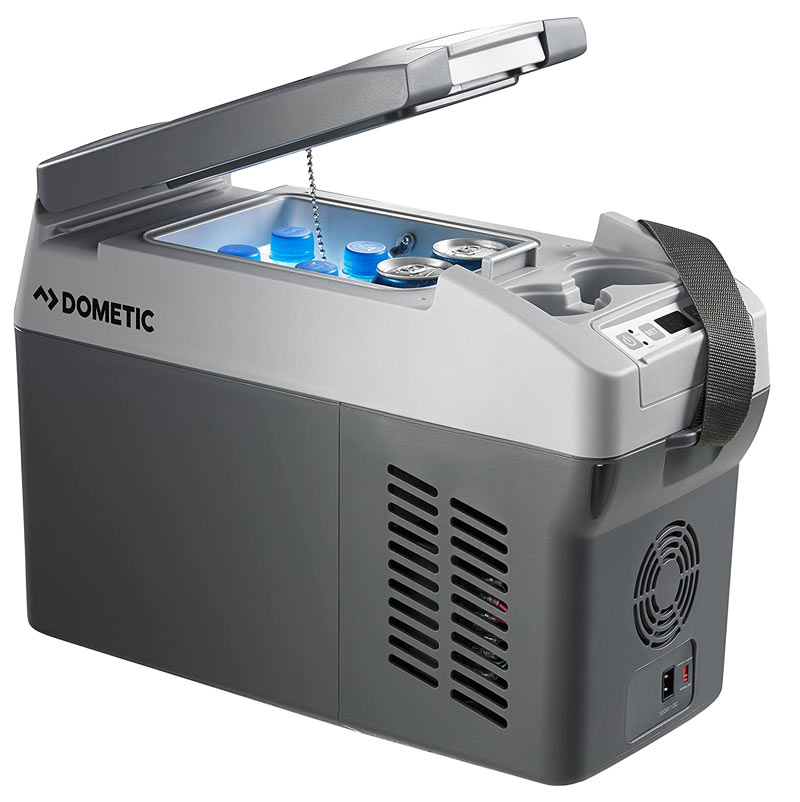 narrow dometic 12v cooler and refrigerator